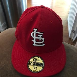St. Louis Cardinals Fitted Hat - World Series 2006